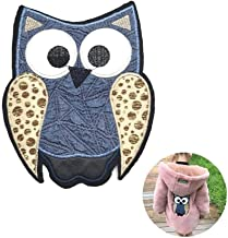 Embroidered Owl Patch Iron On Patch Applique Clothes Accessories Diy Dress Hat Jeans Bird Patch(Owl)