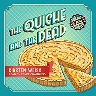 The Quiche and the Dead audiobook cover art