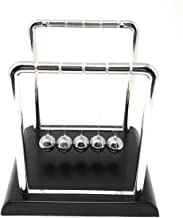 THY COLLECTIBLES Newtons Cradle Balance Balls 7 1/4 inch Desk Top Decoration Kinetic Motion Toy for Home and Office (Large 7.25