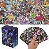 100Pcs Cartes Sun & Mood Series, XY Series GX Cartes EX MEGA Cartes (60EX +20GX +20Mega)