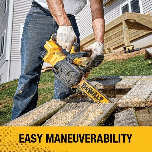DEWALT DCCS620BR 20V MAX XR Compact 12 in. Cordless Chainsaw (Tool Only, No Battery or Charger) (Renewed)