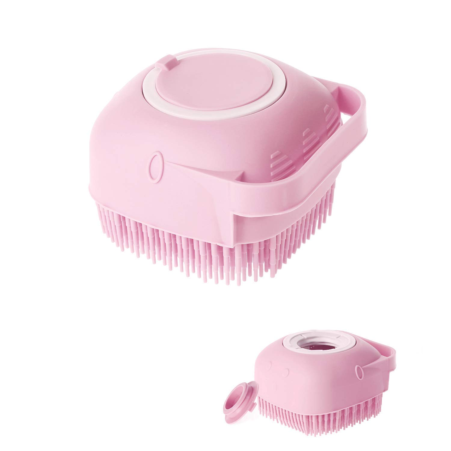 Eowhitu Body Brush for Shower with Store Classic Silicone Massage Bath