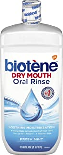 Biotene Dry Mouth Mouthwash 33.80 oz (Pack of 2)