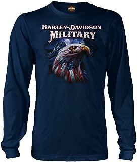 Military - Men's Graphic Long-Sleeve T-Shirt - Overseas Tour | Patriot Eagle