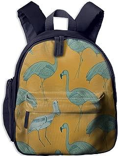 Pinta Flamingos Cub Cool School Book Bag Backpacks for Girl's Boy's