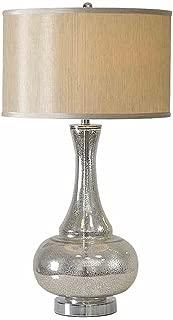 WFM Modern Fashion Personality Silver Lamp Bedroom Bedside Lamp Simple Lamp Bedside Lamp
