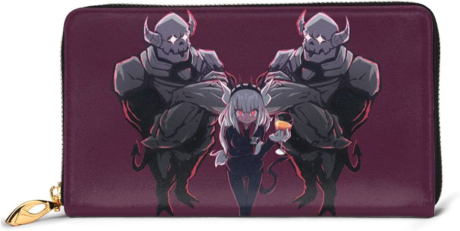 Colorado Springs Mall Hell-Taker Zipper Popular brand Fashion Printed Leather Clutch Wallet
