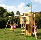 FIPS Spielturm Ritterburg mit Anbauschaukel