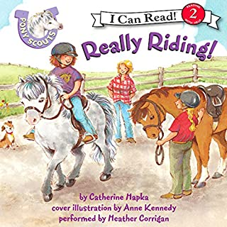 Pony Scouts: Really Riding! audiobook cover art