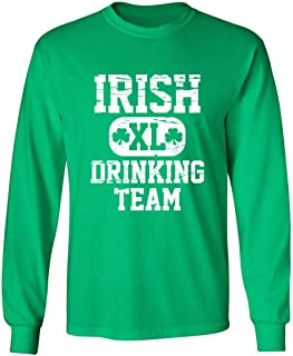 Feelin Good Tees Irish Drinking Team St Patrick's Day Saint Irish Pats Sarcastic Funny T Shirt