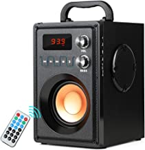 Best TAMPROAD 20W (30W Peak) Portable Bluetooth Speaker with Subwoofer Rich Bass Wireless Stereo Outdoor/Indoor Speakers Support Remote Control FM Radio TF Card for Home Party Smartphone Computer PC Review