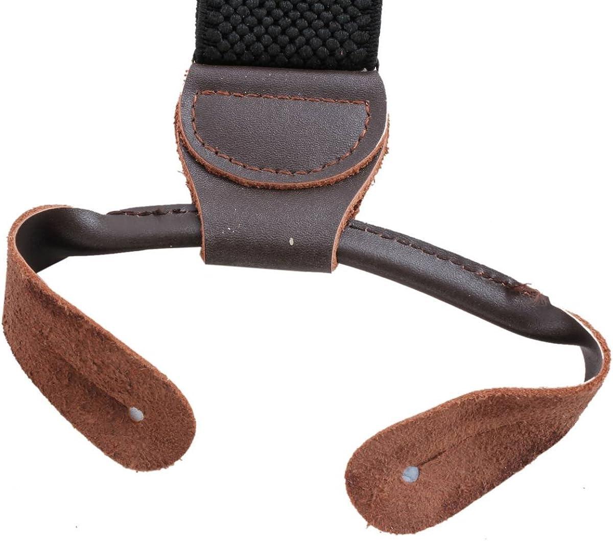Knightsbridge Neckwear Mens Luxury Braces - Black