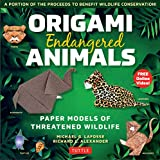 Origami Endangered Animals Ebook: Paper Models of Threatened Wildlife [Includes Instruction Book with Conservation Notes, Printable Origami Paper, FREE Online Video!] (English Edition)