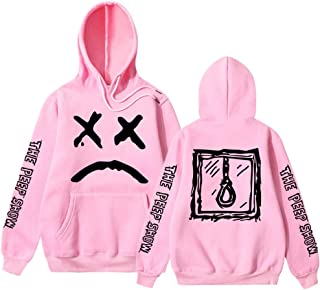 Ksone Unisex Hoodie Novelty Sweatshirt Fashion Sport Hip Hop Rapper Hoodie Casual Pocket Round Collar Hooded Pullover Tops