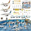 Liberty Imports 200 Pieces Deluxe Airport Terminal Kids Toy…