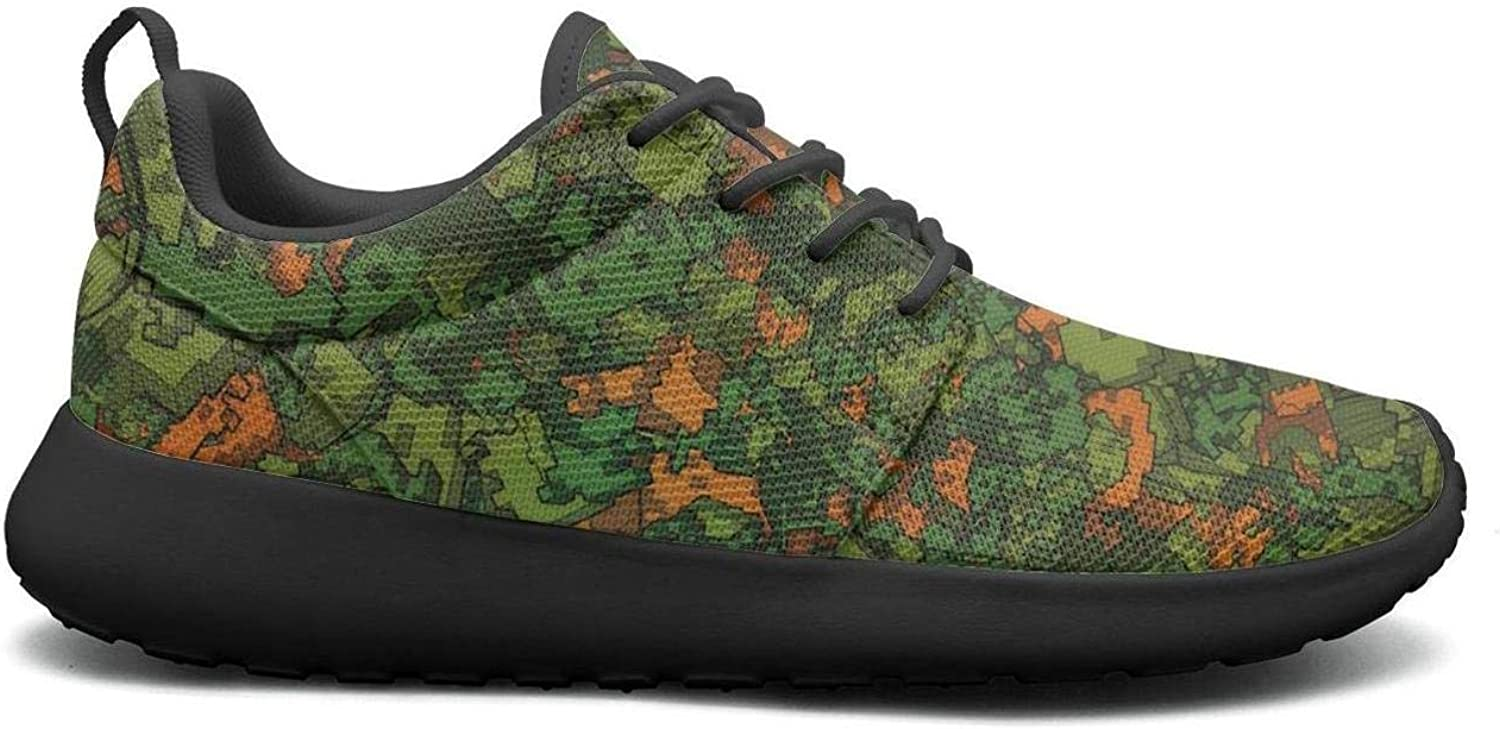 FEWW11 Women Funny Lightweight shoes Sneakers Multicam Camo-01 Cozy Gym Lace-Up