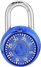 Verfijnde sloten Ronde Mechanische Dialturntable Password Padlock Garderobe Gym Security Lock Cerradura Candado betrouwbaa...