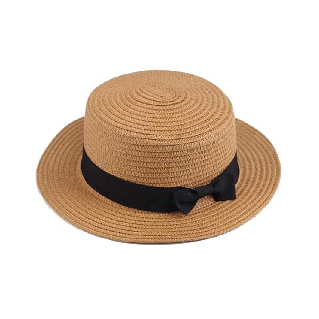 Fashion Summer Women Beach Hat Casual Personality Hat Lady Classic Bowknot Straw Flat Sun Hats