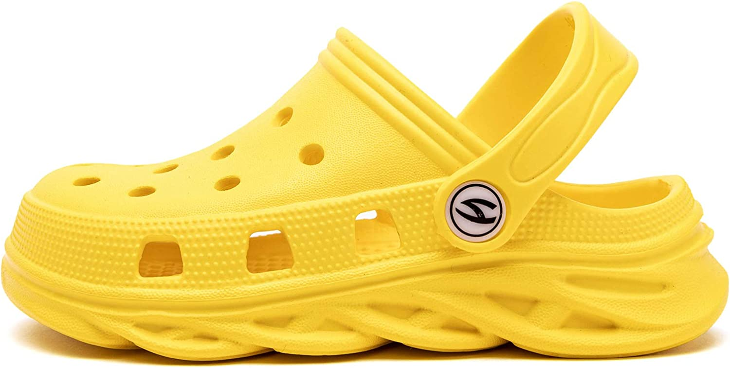 Kids Classic Clog Slip on Boys and Girls Water Shoes Lightweight Graphics Garden Shoes Slippers