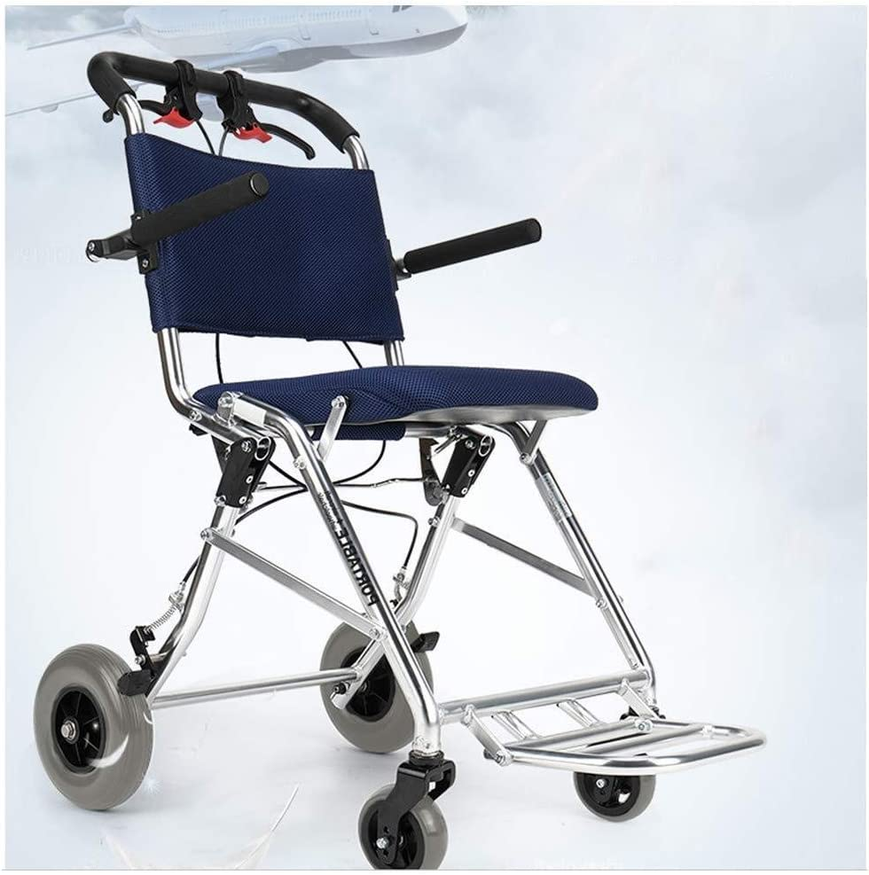 Quantity limited Limited time sale LHBNH Comfortable Wheelchair Fo Lightweight Aluminum