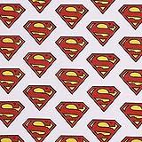 SCHÖNER LEBEN. Baumwollstoff GOTS Bio Popeline Superman
