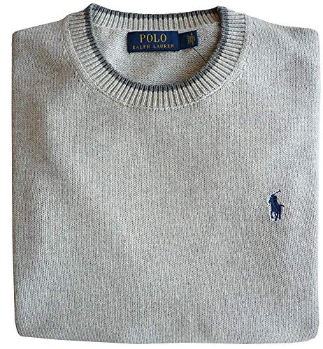 Polo Ralph Lauren Pullover, L, Pony Logo, Grey Htr
