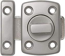 ABUS DRD30 N B 59665 deurgrendel, vernikkeld, mat, 30 mm
