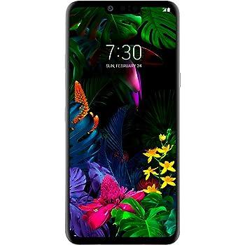 "LG G8 ThinQ (G820) 128GB GSM Unlocked (not CDMA) 6.1"" Display Smartphone - Platinum Gray (Renewed)"