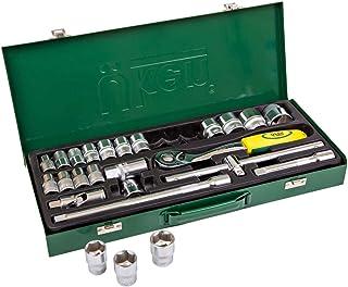 """Uken U5901 Socket Set 1/2"""" Dr - 25 Pieces 12PT"""