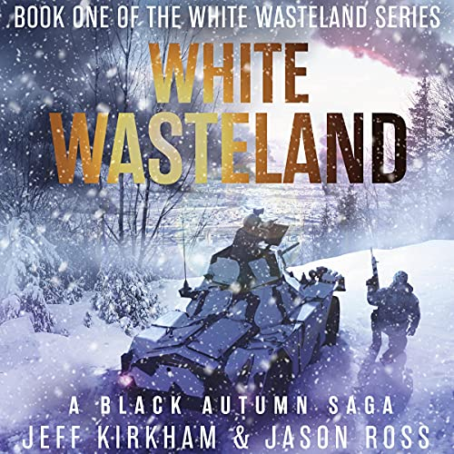White Wasteland Audiobook By Jeff Kirkham, Jason Ross cover art