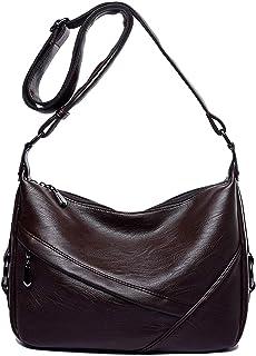 fc78295200ce Amazon.com  Leather - Hobo Bags   Handbags   Wallets  Clothing ...
