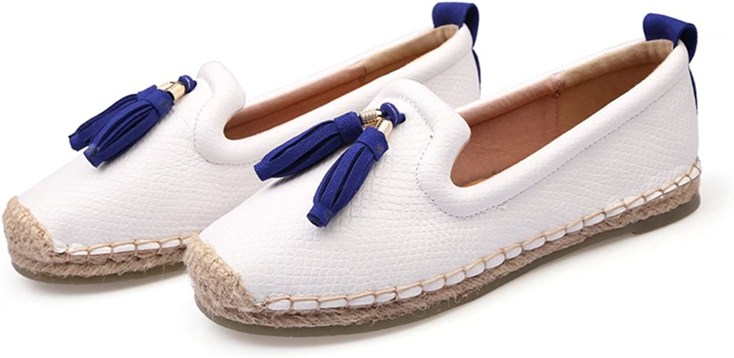 Xiaoyang Women Canvas Espadrille Flat - Casual, Beach, Lounging - Espadrille