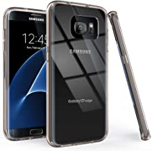 Sponsored Ad - Puxicu Samsung S7 Edge Case, Galaxy S7 Edge Case, Crystal Clear Case Shockproof Protection Scratch-Resistan...
