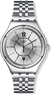 Swatch Casual Watch For Unisex Analog Stainless Steel - Yws406G,
