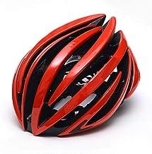 LIUDATOU Carrera Ciclismo Casco Hombres Triatlón Tri Aero Casco Bicicleta de Carretera Ultraligero Casco de Bicicleta Accesorios