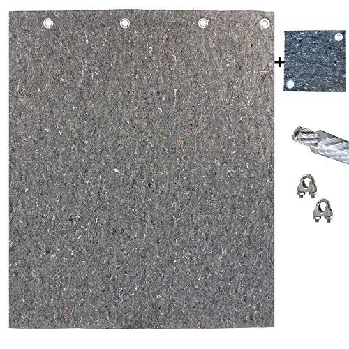 Pfeilfangmatte Maximum Safe 2m (breit) x 2m (hoch) inkl. Zubehör & BACKSTOP: 25cm x 25cm