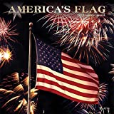 America s Flag 2022 12 x 12 Inch Monthly Square Wall Calendar with Foil Stamped Cover by Plato, USA United States of America
