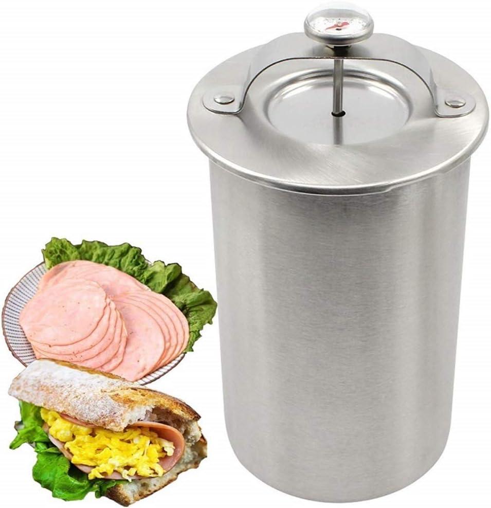 Press Ham Maker Max 42% unisex OFF - Joyeee Shape M Stainless Steel Round