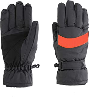 LLmoway Kids Winter Warm Snow Ski Gloves Child Waterproof Gloves with Palm Grip
