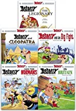 Asterix Series 2 Collection 5 Books Set (Book 6-10) (Cleopatra, the Big Fight, Asterix in Britain, the Normans, Asterix The Legionary)