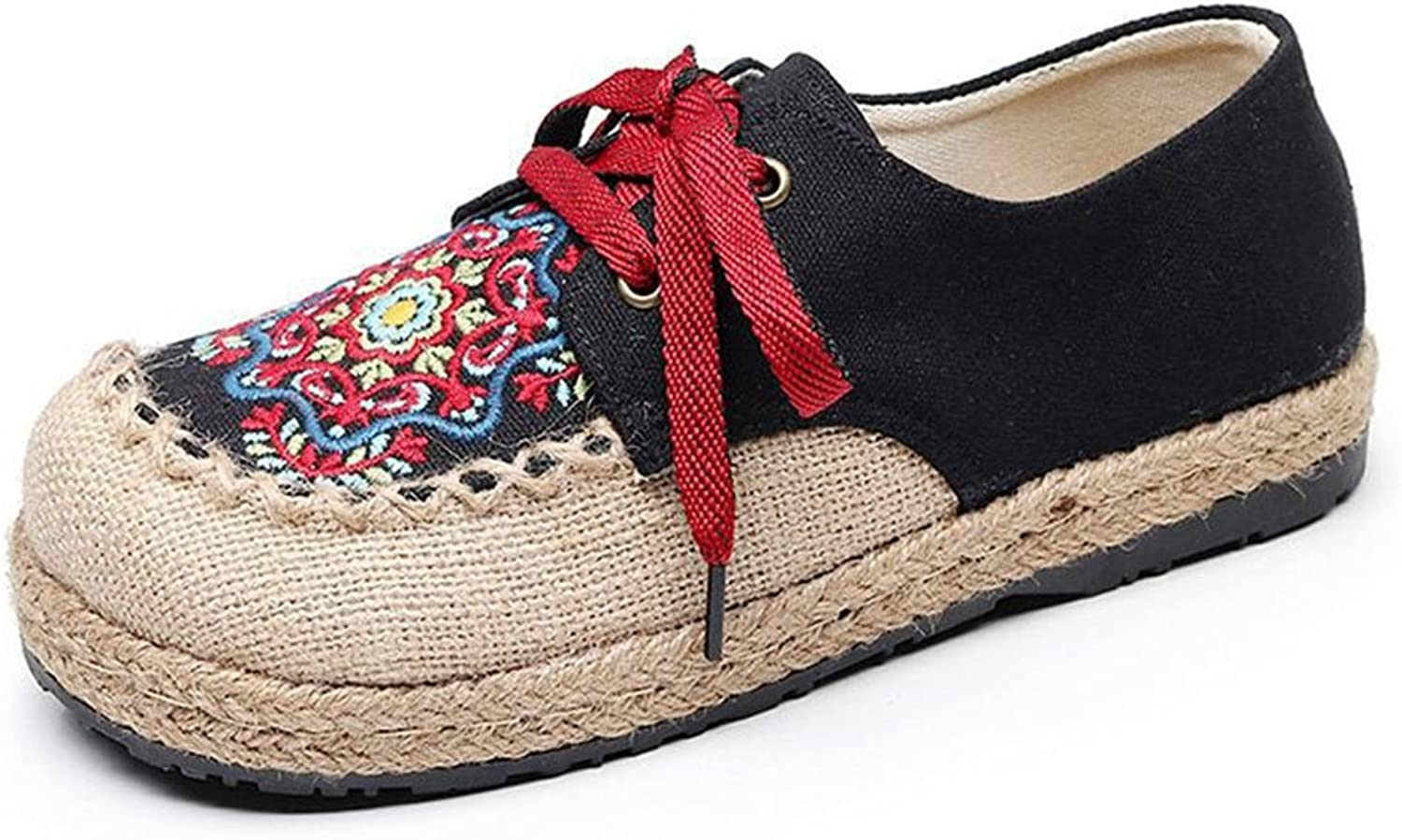 Super frist Palafrugell Linen Flats, Soft Leather Innersole Cushion, Authentic Espadrilles Hand Made in Spain