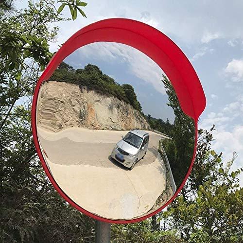 Hfyg verkeersspiegel veiligheidsspiegel, PC duurzame verkeersspiegel voor Panshan Road Bus Stop kruispunt waarschuwing 75cm
