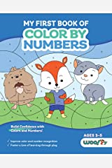 My First Book of Color by Numbers Paperback