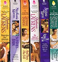 Cynster Novels, 13-book Collection by Stephanie Laurens: Temptation & Surrender; Scandal's Bride; And Then She Fell; The Taste of Innocence; A Rake's Vow; The Taming of Ryder Cavanaugh; The Promise in a Kiss; What Price Love?; Plus 5 More Novels
