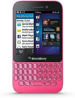 BlackBerry Q5 SQR100-1 Unlocked GSM 4G LTE Dual-Core Keyboard Phone - Pink