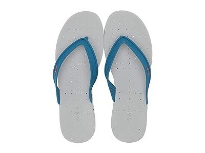 SWIMS Breeze Thong Sandal (Seaport Blue/Alloy) Men