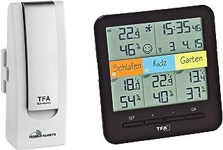TFA Dostmann 31.4007.02 Weather Hub Kit de iniciación con climática @ Home térmica de Radio de higrómetro, Mobile climátic...