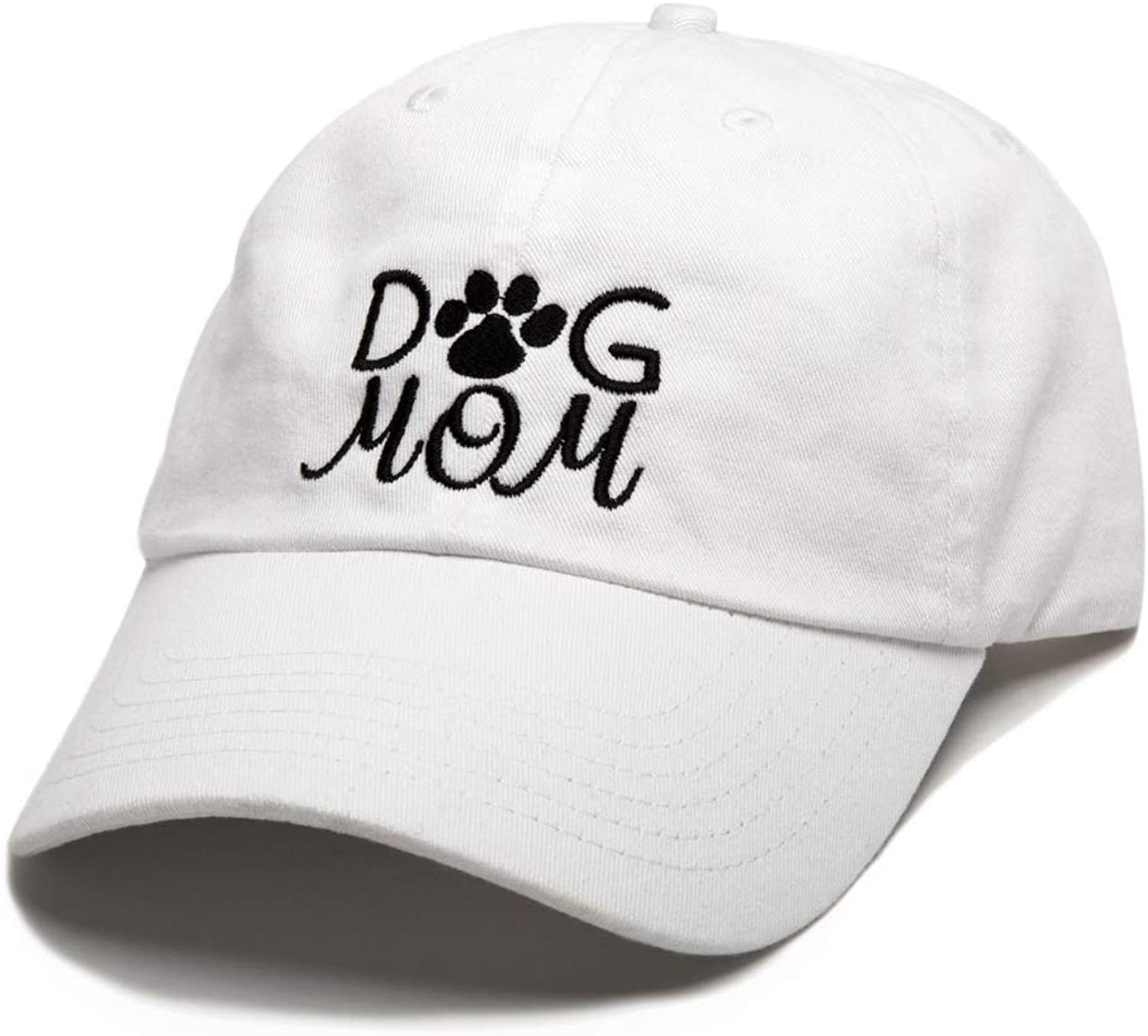 Beanie Bliss Dog Mom Baseball Cap Embroidered Dad Hat Unstructured Low Profile Adjustable Strap Back