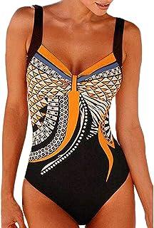 comprar comparacion Luckycat bañador Natacion 2019 Bikini Mujer Push up Tankinis Tallas Grandes Prime Traje de baño niña Licra mangalarga Mono...