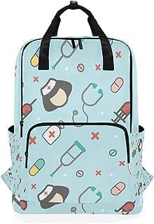 Montoj Mochila de viaje para pasear con Echómetro, mochila escolar de enfermera